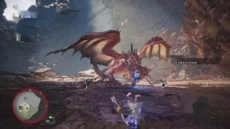 【空虚】PS4怪物猎人世界 冰原-成年冥灯龙2