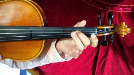 【陈雍涵】在同一根弦上作音阶和三度分解的练习。《bA大调、bE大调、bB大调、F大调,第一、三、五把位上的换把》(2019.12.8 ,回课作业,学琴3年半)