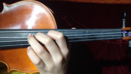 【谢雨泽】在同一根弦上作音阶和三度分解的练习。 《B大调、#F大调、#C大调、bA大调,第二、四、六把位上的换把》(2019.12.8,回课作业,学琴5年半)