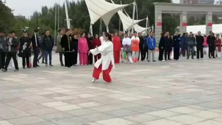 陈式太极拳56式比赛者(杨紫仪)