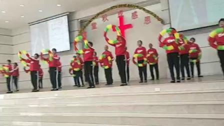 基督教花环舞蹈(四面八方唱响神的歌)
