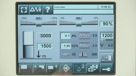 RSB-D 50并条机 - 产量、质量和易操作性的新标杆