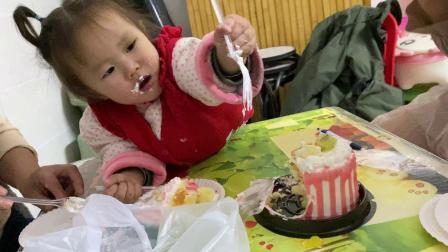 小宝贝农历生日 小蛋糕18元 看到流口水