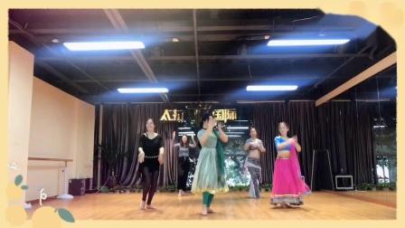 杭州市太拉国际教培学院 —— 漫漫老师3节会员课杀青印度舞《少女出逃》,大家很不错耶,势头这么好🥰