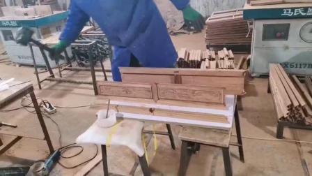 高端红木家具榫卯结构安装视频王义红木手工花梨木家具