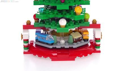 乐高40338 Christmas Tree 2019 LEGO积木砖家评测