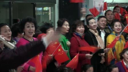 玉海摄:全体合唱《歌唱祖国》济南市《百姓大舞台》第五场选拔赛