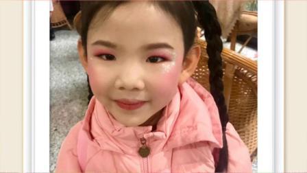 小米粒艺术培训班,参加重庆少儿频道演出,