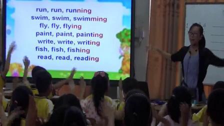 【获奖】粤人版四年级英语上册Unit 2 School ActivitiesLesson 2-郑老师优质公开课教学视频(配课件教案)
