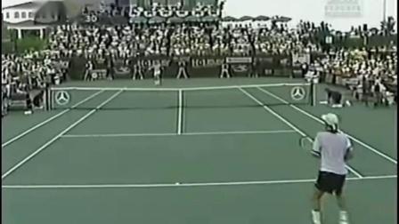 【自制HL】拉夫特VS曼蒂拉 1998年ATP长岛决赛