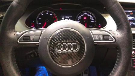 济南奥迪A4汽车音响改装专业调音效果试听视频展示-【孚卡悦听】