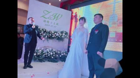 湖北电视台主持人-阿庆儿 12.7 武钢宾馆会议中心 婚礼主持