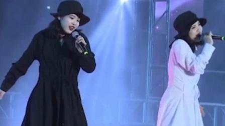 双胞胎美女国际赛黑白配《Wolves》歌舞