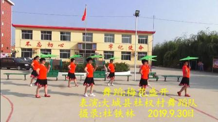 杜权村舞蹈队:梅花赞 杜铁林摄录