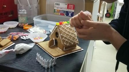 制作姜饼屋