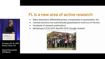 Federated learning with TensorFlow Federated (TF W