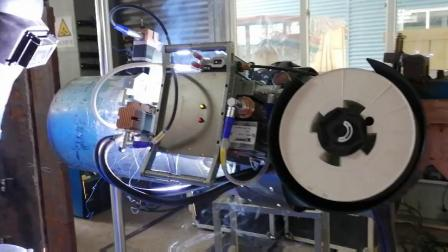 熊谷管道自动焊机A-305 单焊炬自动外焊5G视频