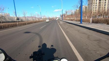 呼和浩特西二环路摩托车到乌素图