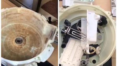 滚筒洗衣机全拆洗