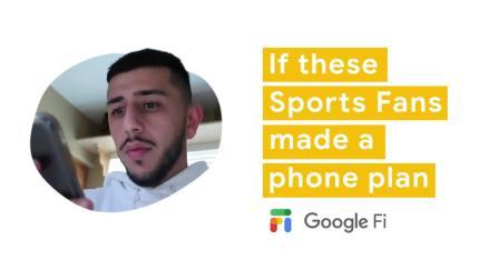 Google Fi: If Sports Fans made a phone plan