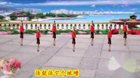 2019年最新广场舞芜湖蜀山茶姐广场舞不白活一回