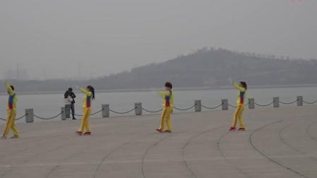 中国时光第二套健身操(茌平)第十二节