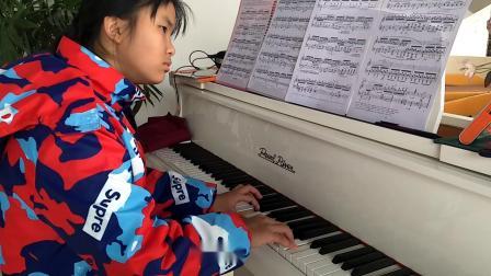 肖邦练习曲7  敖佳宝  音乐家园琴行 (宝瑞音乐艺术培训学校)