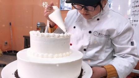 重庆长城职业学校-西点烘焙班-蛋糕
