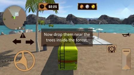 露营车货车模拟器巡洋舰汽车拖车3新更新最佳游戏