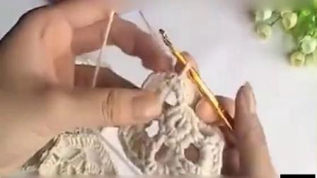 【棒针毛衣编织花样】--镂空花毛衣编织教程