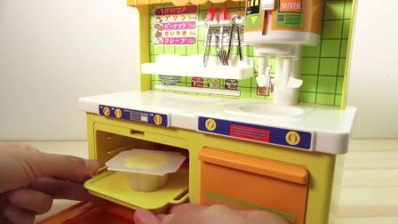 宝宝小厨房-烹饪玩具新鲜面包制作布丁