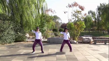 冷酷到底邯郸学步桥新月广场舞健身操冷酷到底