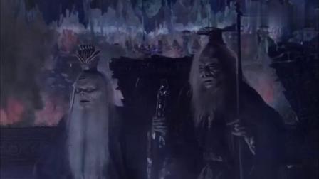 新西游记:孙悟空大闹阎王殿,黑白无常看到大气都不喘,太强势了