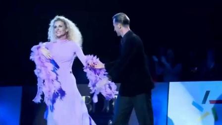 米尔科、埃迪塔2019CBDF国际标准舞总决赛颁奖晚会表演:W_20191213