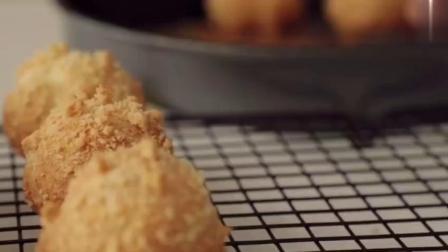 cookingtree|在家就可以做圆圆的可爱奶油泡芙哦!