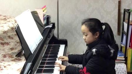 钢琴王子如 刘袁圆练琴《安妮的仙境》