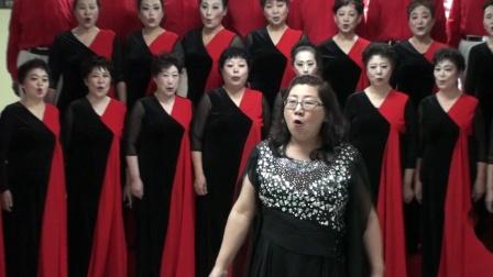 玉海摄:合唱《母亲的微笑》指挥:阎红.济南天桥区文化馆艺术团