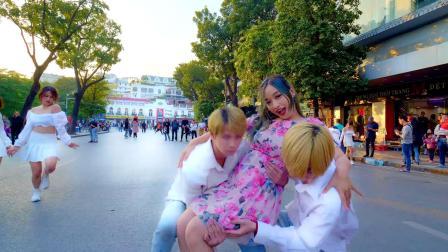 [FG.Dance IN PUBLIC]HyunA - Flower Shower Dance Cover