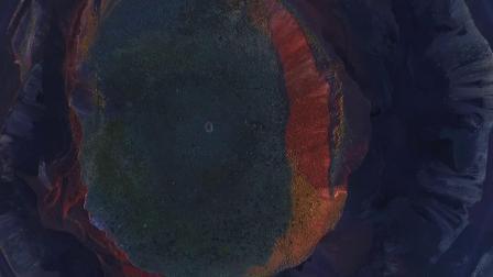 航拍察哈尔火山群