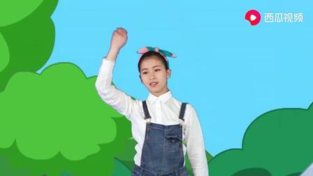 多吉律动儿歌粉刷匠经典儿歌演绎,给小朋友带来欢乐