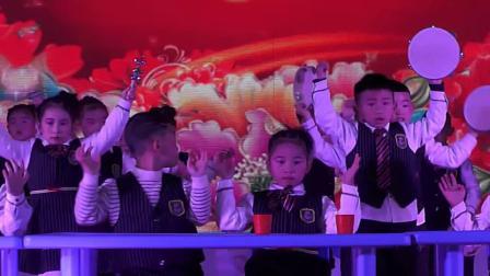 桃花江镇第三中心幼儿园奥尔夫音乐元旦表演