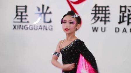 七台河星光舞蹈学校 拉丁舞《激情火焰》