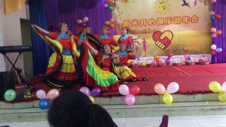 彝族摆裙舞《火把节》