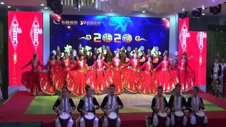 2019-12-17新疆舞蹈,红玫瑰新疆舞蹈艺术团