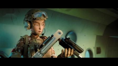 中国大兵!3D动画大电影《士兵顺溜:兵王争锋》定档版预告片