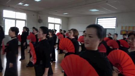 期末汇报演出联欢会-武汉市青山区老年大学模特班