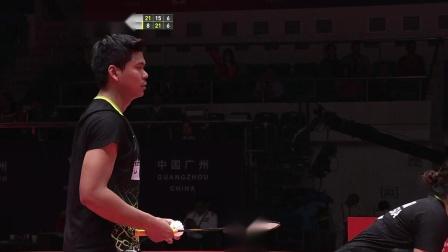 混双B组比赛全程:郑思维黄雅琼vs乔丹梅拉蒂