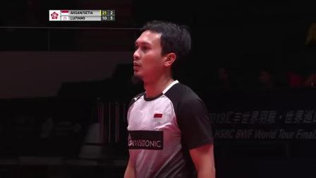 男双第二轮卢敬尧杨博涵vs阿山塞蒂亚万全程