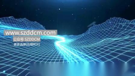 科技震撼开场视频 年会短片 年会vcr 团队展示 A202012