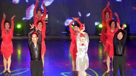 拉丁舞《红玫瑰》